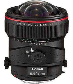 Canon 17mm TS-E F/4L Tilt Shift EF Prime Lens