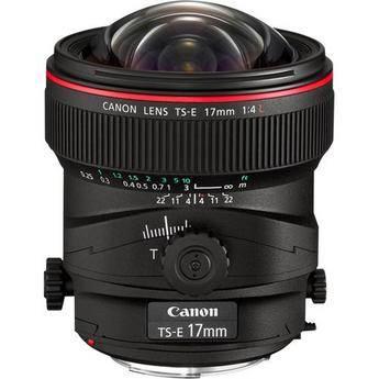 Canon 17mm TS-E F/4L Tilt Shift EF Prime Lens Rental NYC