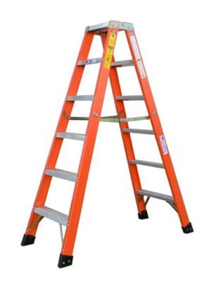 Rigid 7 Foot A-Frame Ladder