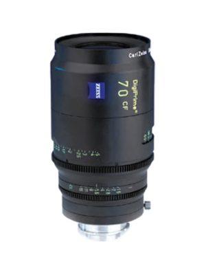 Zeiss DigiPrime 70mm T1.6 Cine Prime B4 Lens