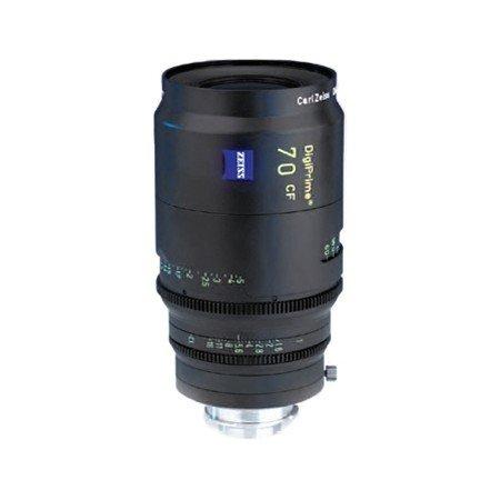 Zeiss DigiPrime 70mm T1.6 Cine Prime B4 Lens Rental NYC