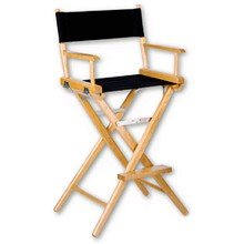 Tall Directors Chair Rental in Brooklyn, Manhattan, Nyc