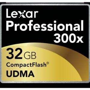 Lexar 300x Speed 32GB CF Card Rental