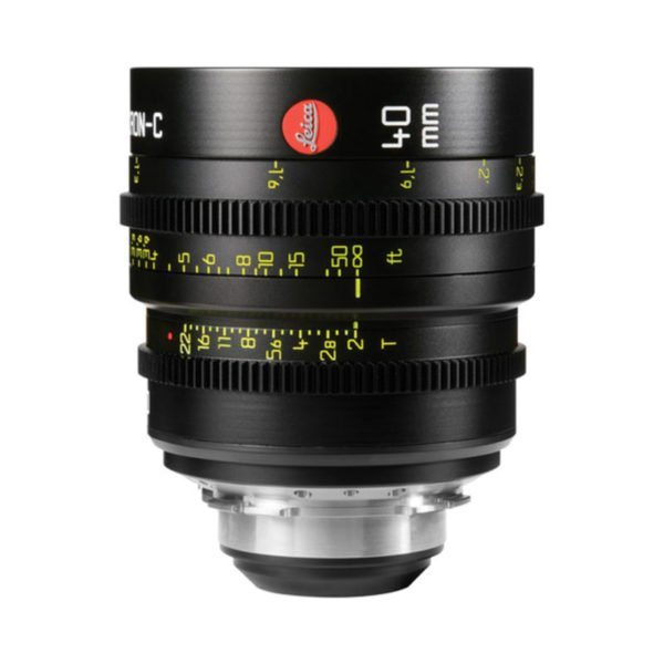 Leica Summicron-C T2.0 40mm Prime PL Lens Rental Nyc