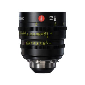 Leica Summicron-C T2.0 18mm Prime PL Lens Rental Nyc