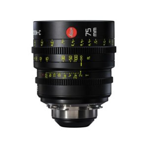 Leica Summicron-C T2.0 75mm Prime PL Lens Rental Nyc