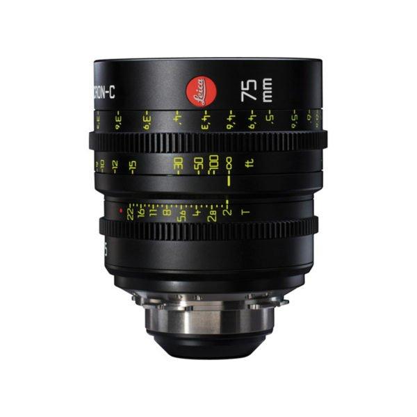 Leica Summicron-C T2.0 75mm Prime PL Lens Rental Nyc