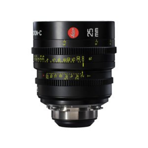 Leica Summicron-C T2.0 25mm Prime PL Lens Rental Nyc