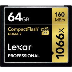 Lexar 1066x Speed 64GB CF Card Rental Brooklyn Manhattan Nyc