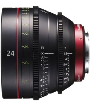 Canon CN-E 24mm T1.5 Cinema Prime EF Lens Rental NY, NJ