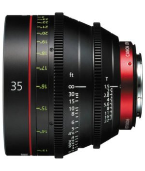 Canon CN-E 35mm T1.5 Cinema Prime EF Lens for Hire in NJ, NYC