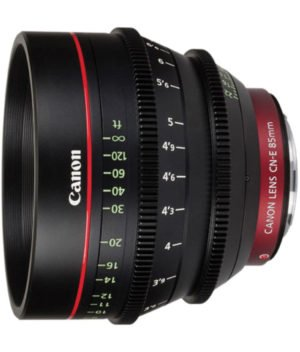 Canon CN-E 85mm T1.3 Cinema Prime EF Lens Rental NY, NJ