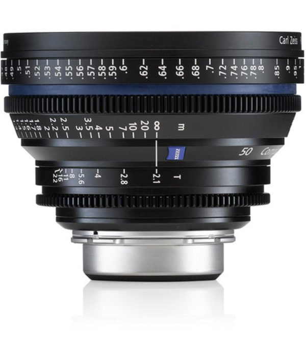 Carl Zeiss CP.2 50mm T2.1 EF Lens Rental NYC