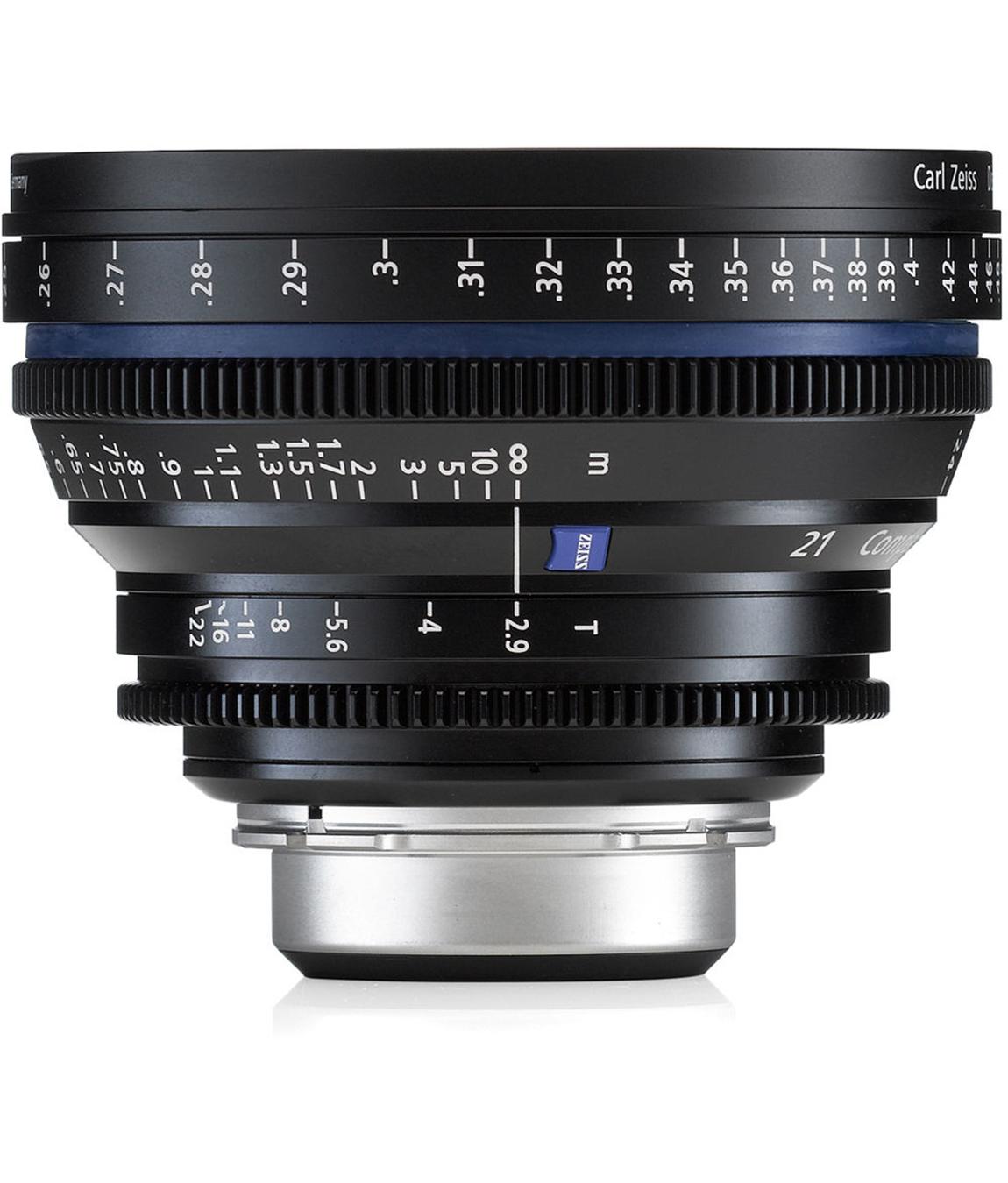 Carl Zeiss CP.2 21mm T2.9 EF Lens Rental NYC
