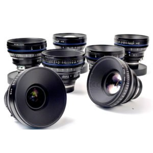 Carl Zeiss CP.2 EF Lens Set Rental NYC