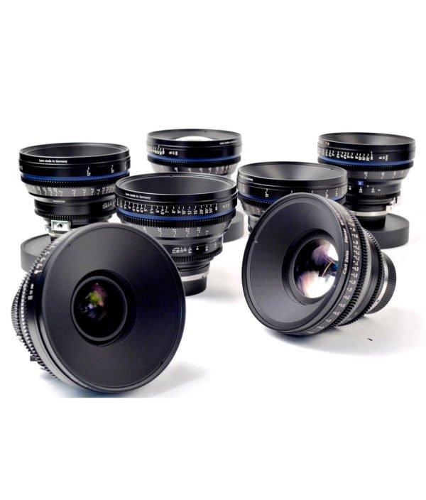 Carl Zeiss CP.2 EF Lens Set Rental NYC