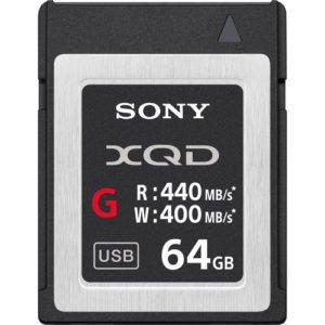 Sony XQD 64GB G-Series Card Rental Manhattan Brooklyn Nyc