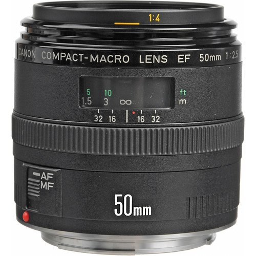 Canon EF 50mm F/2.5 Compact Macro Lens Rental NYC