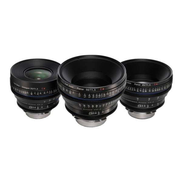 Carl Zeiss CP.2 Super Speed EF Lens Set Rental Nyc