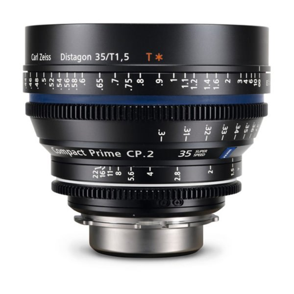 Carl Zeiss CP.2 35 mm/T1.5 Super Speed PL/EF Lens Rental Nyc