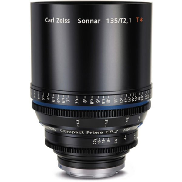 Carl Zeiss CP.2 135mm T2.1 PL/EF Lens Rental Nyc