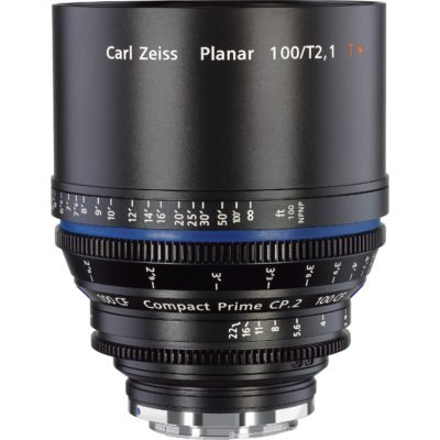 Carl Zeiss CP.2 100mm CF T2.1 PL/EF Lens for Rent NYC