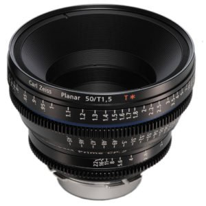 Carl Zeiss CP.2 50 mm/T1.5 Super Speed EF Lens Rental NYC