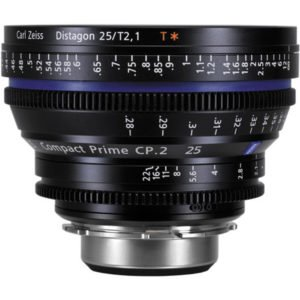 Carl Zeiss CP.2 25mm T2.9 EF Lens Rental NYC