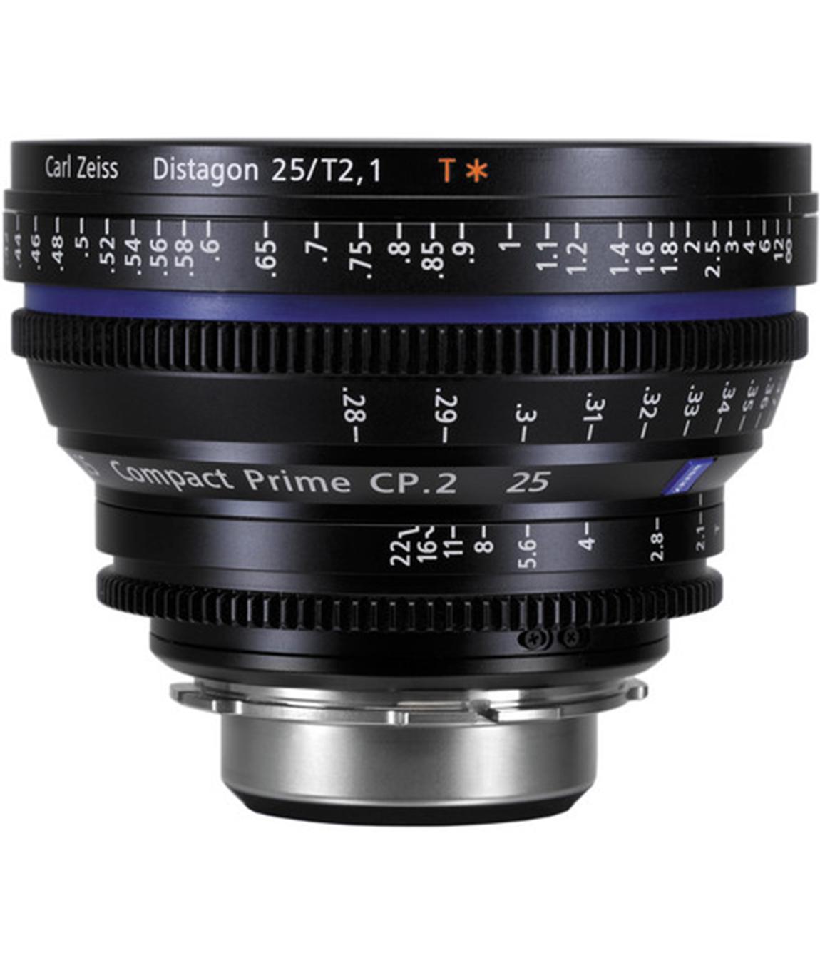 Carl Zeiss CP.2 25mm T2.9 EF Lens Rental NYC