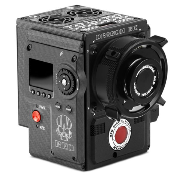 Red Weapon Woven Carbon Fiber 6k Camera for Rent in Nyc