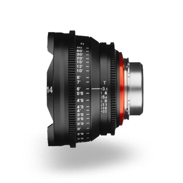 Rokinon Xeen 14mm T3.1 Lens PL Mount Rental Nyc