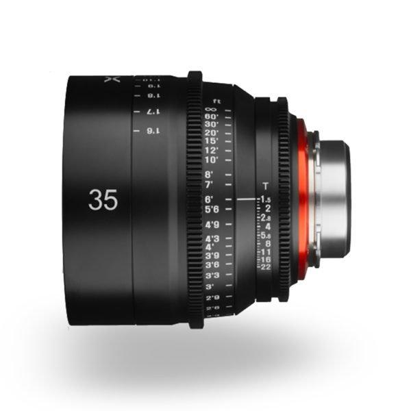 Rent Rokinon Xeen 35mm T1.5 Lens PL Mount Nyc