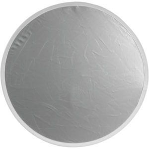 """Flexfill Collapsible Reflector - 48"""" Circular - Silver/White Rental in Brooklyn and Manhattan"""
