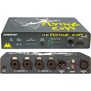 Midiman Audio Flying Cow A/D D/A Converter Rental, Audio Rental Nhyc