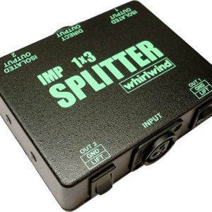 Whirlwind SP1X3 Mic Splitter Rental and Audio Equipment Rental in Brooklyn, Manhattan, Nyc