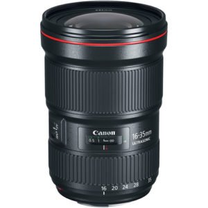 Canon 16-35mm F/2.8L III Zoom EF Lens Rental NYC