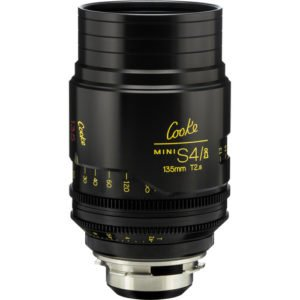 Cooke S4/i Mini 135mm T2.8 Cine Lens Coated & Uncoated Rental