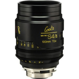 Rent Cooke S4/i Mini 100mm T2.8 Cine Lens Coated & Uncoated in Nyc