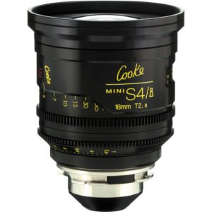 Cooke S4/i Mini 18mm T2.8 Cine Lens Coated & Uncoated Rental Nyc