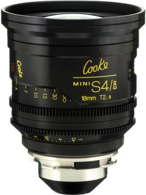 Cooke S4/i Mini 18mm T2.8 Cine Lens Coated & Uncoated Rental NJ NYC PA
