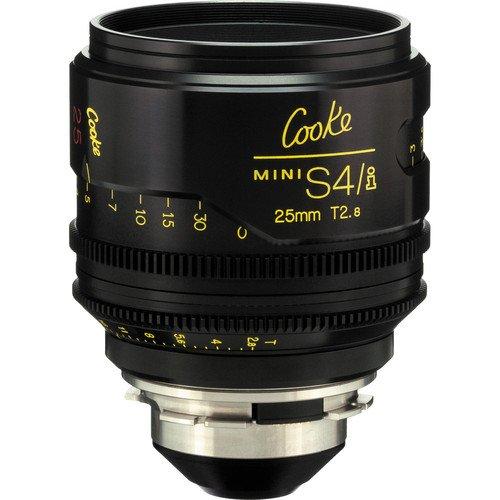 Cooke S4/i Mini 25mm T2.8 Cine Lens Coated & Uncoated Rental NY
