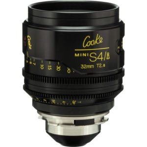 Cooke S4/i Mini 32mm T2.8 Cine Lens Coated & Uncoated Rental NYC