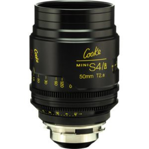 Cooke S4/i Mini 50mm T2.8 Cine Lens Coated & Uncoated Rental