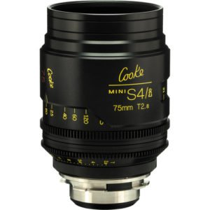 Cooke S4/i Mini 75mm T2.8 Cine Lens Coated & Uncoated
