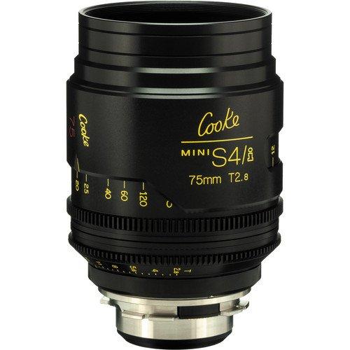 Cooke S4/i Mini 75mm T2.8 Cine Lens Coated & Uncoated
