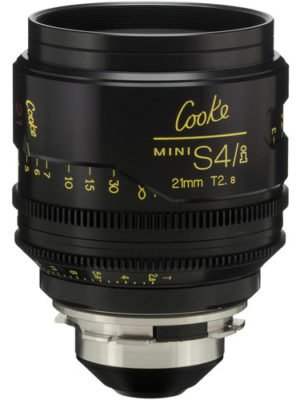 Cooke S4/i Mini 21mm T2.8 Cine Lens Coated & Uncoated Rental NYC
