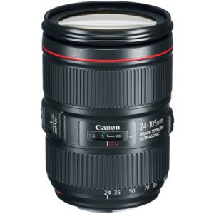 Canon 24-105mm F/4L II IS Zoom EF Lens Rental