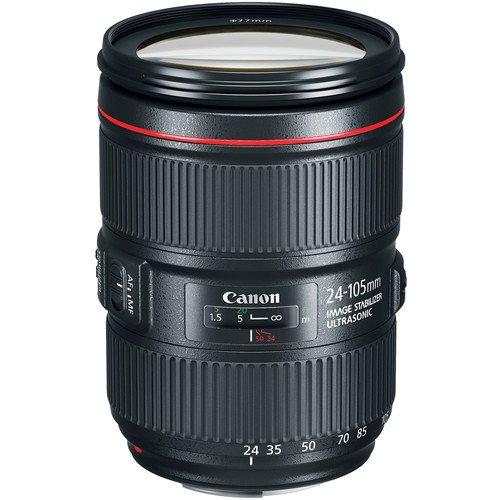 Canon 24-105mm F/4L II IS Zoom EF Lens Rental