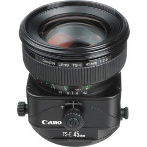 Canon 45mm TS-E F/2.8 Tilt Shift Prime EF Lens