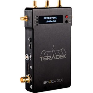 Rent Teradek Bolt Pro 2000 SDI/HDMI Wireless Video Additional Receiver in Manhattan, Brooklyn, Nyc